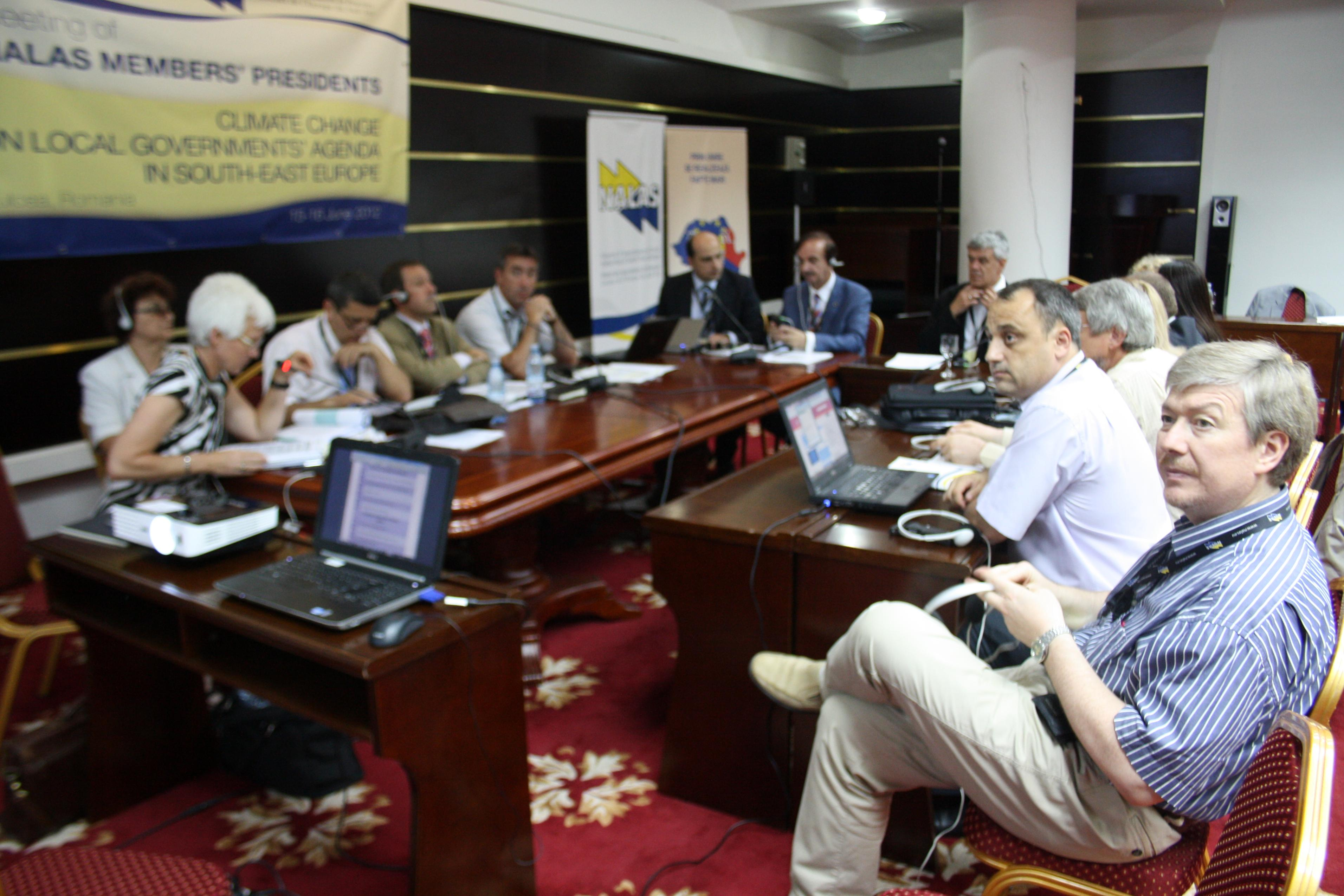 NALAS Presidents Meeting: Climate Change on Local Governments' Agenda in South-East Europe