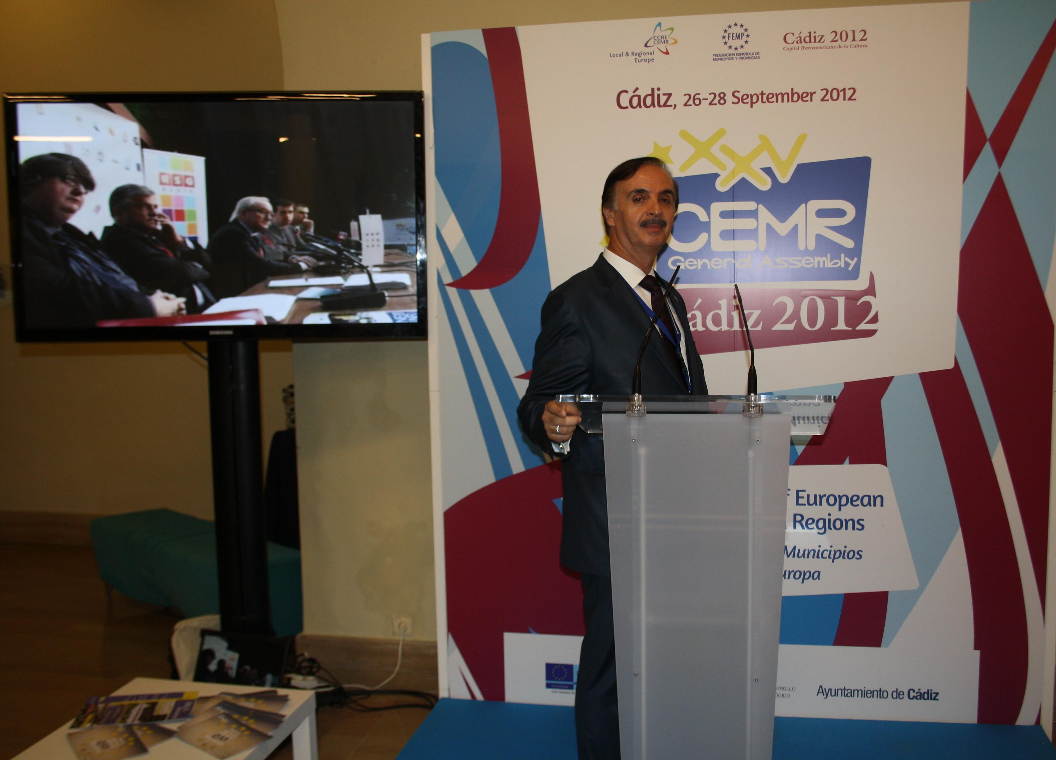 NALAS Presents Its Work on the 25th General Assembly of CEMR